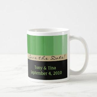 Reserva del personalizable la taza de la fecha