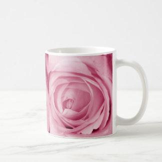 Reserva del rosa del caramelo de algodón la fecha taza básica blanca