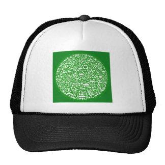 Reserva del verde de Eco el mundo Gorro De Camionero
