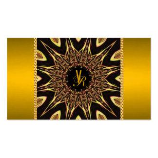 Reserva--Fecha elegante fresca del monograma del Tarjetas De Visita