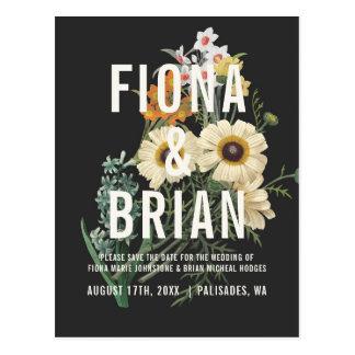 Reserva ideal botánica del boda las postales de la