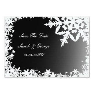 reserva negra del copo de nieve la invitación de