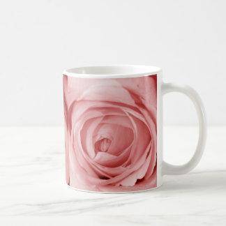 Reserva rosácea la fecha taza