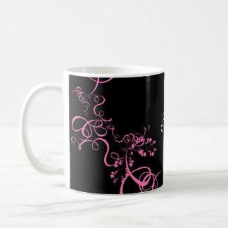 Reserva rosada del remolino los productos de la taza