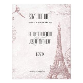 Reserva subió vintage de la torre Eiffel la fecha Comunicados