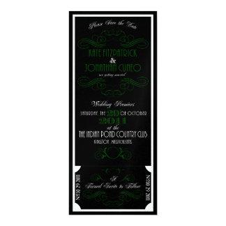 Reservado para Kate/la reserva del encanto la Invitación 10,1 X 23,5 Cm