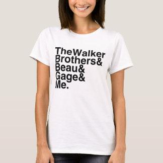 Reserve al novio los hermanos del caminante, camiseta