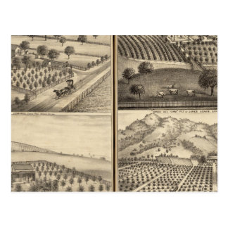 Residencias de Edward Jennings, Alfred Symonds Postal