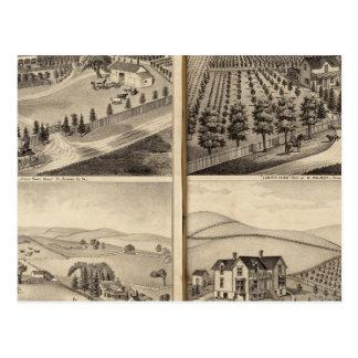 Residencias de Juan Turner, CA Shelton, H Wilsey Postal