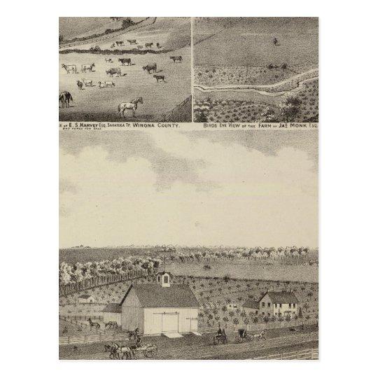 Residencias y granjas de Eldridge, Minnesota Postal