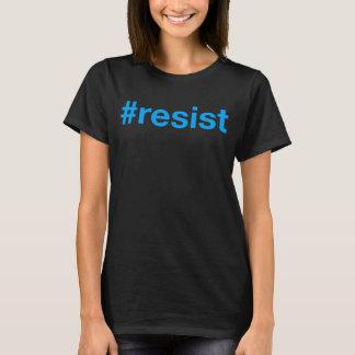 #resist (de doble cara) camiseta