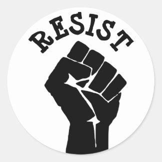 Resista al pegatina político del Anti-Triunfo del