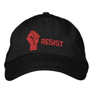 Resista el gorra gorra bordada