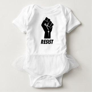 resista el puño body para bebé