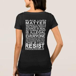 Resista la camiseta de las mujeres