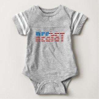 Resista la resistencia anti del triunfo persisten body para bebé