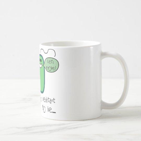 Resistencia a los medicamentos taza de café