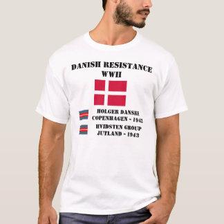 Resistencia danesa (dos unidades) camiseta