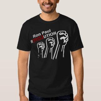 RESISTENCIA de la REVOLUCIÓN de Ron Paul Camisetas