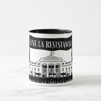 ¡Resistencia del La de Vive! (taza del dos-tono) Taza