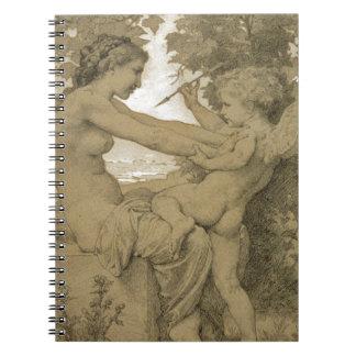Resistencia del ` s del amor de William-Adolphe Libro De Apuntes Con Espiral