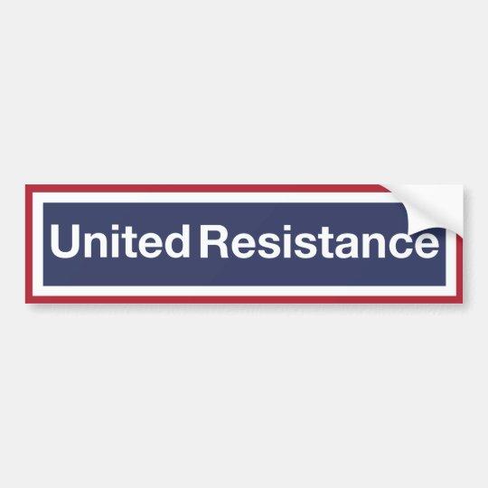 Resistencia unida pegatina para coche