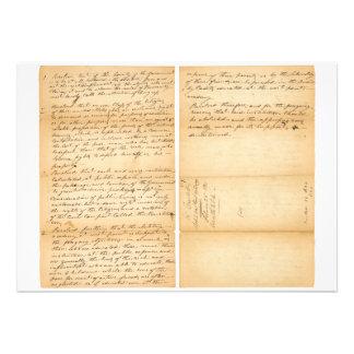 Resolución 1830 de West Point de Davy Crockett Invitación Personalizada