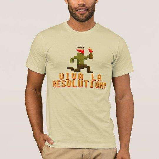 ¡Resolución del La de Viva! Camiseta
