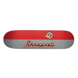 Respecto indio de la metralla tabla de skate