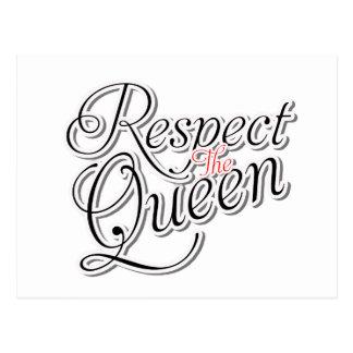 Respete a la reina postal