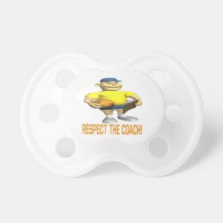 Respete al coche chupete de bebé