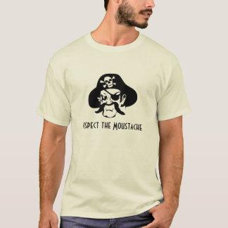 Respete el bigote camiseta