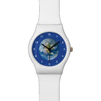Respete el futuro del reloj de la tierra del