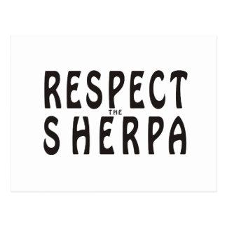 Respete el Sherpa Postal