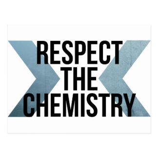 Respete la química postal