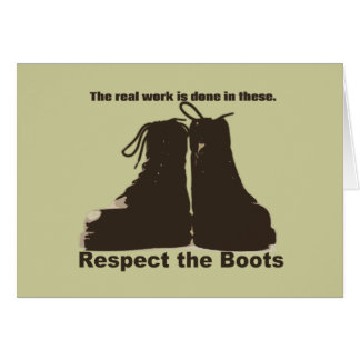 Respete las botas: ¡Qué trabajadores REALES llevan Tarjetas