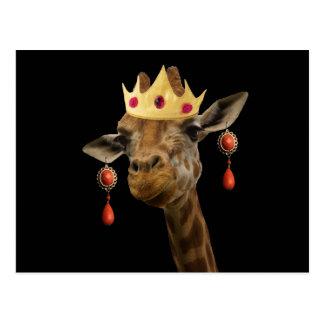Respete por favor a la reina tarjetas postales