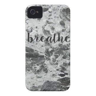 Respire el mármol carcasa para iPhone 4