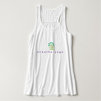 Respire la camiseta flowy de la yoga