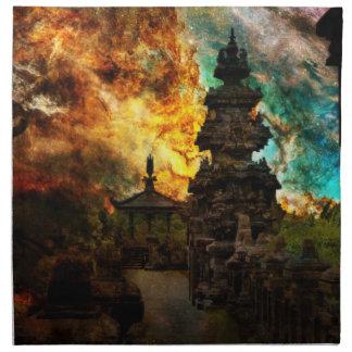 Respire otra vez Bali Servilleta De Tela