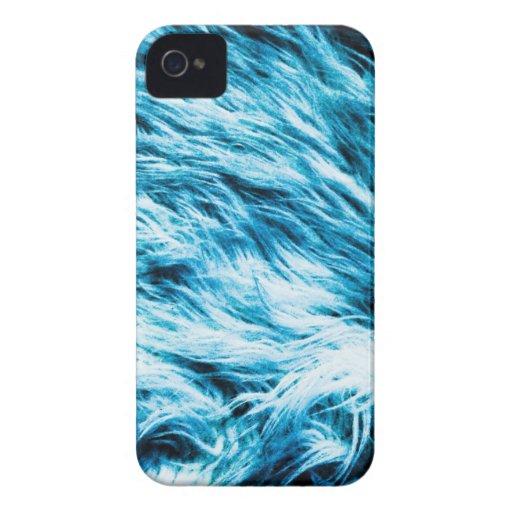 Resplandor azul iPhone 4 Case-Mate cárcasas