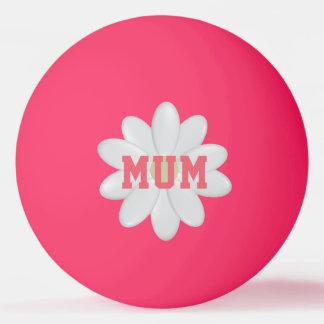 Resplandor de la margarita de la madre en la bola