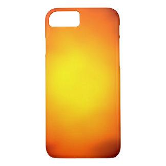 Resplandor del naranja y del amarillo funda iPhone 7