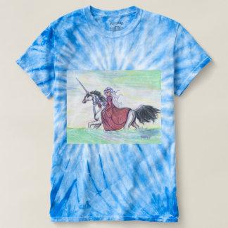 Resplandor del unicornio camiseta