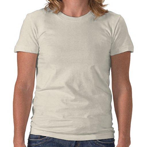 Resplandor solar del azul del unicornio camisetas