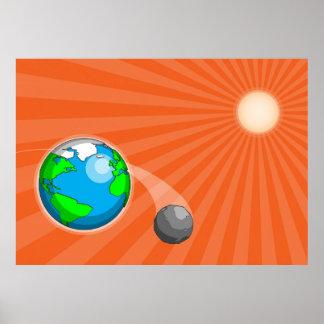 Resplandor solar impresiones