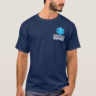 Respondedor médico de la emergencia camiseta