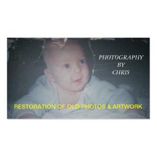 Restauración de fotos y de la tarjeta de visita vi