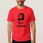 Restauración del La de Viva - fresco del homo de Camiseta