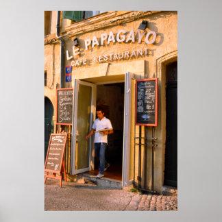 Restaurante, Aix-en-Provence Posters